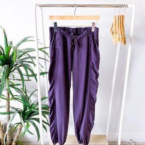 Athleta Purple La Viva Jogger Pants